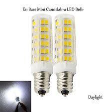 5 pack e11 led bulb dimmable mini candelabra base 5w bulb 50w