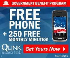 Description Q Link Wireless provides a free cell phone and free monthly minutes to qualified Lifeline participants You may qualify for Q Link Wireless