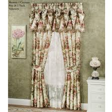 Jcpenney Double Curtain Rods by Decor Maroon Jc Penney Curtains With White Paint Wall And Accent