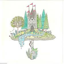 The Finished Product One Of Johannas Beautiful Illustrations Which Has Been Carefully Coloured In With