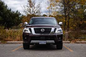 Review: 2017 Nissan Armada Platinum | Canadian Auto Review 2018 Nissan Armada Platinum Reserve Wheel The Fast Lane Truck With Ielligent Rear View Mirror Palmer Vehicles For Sale 2017 Takes On The Toyota Land Cruiser With A Rebelle Yell Turns Rally Car Kelley Tractor And Pull Fair 2011 Nissan Armada Platinum 4wd Suv For Sale 587999 Adventure Drive First Of Pathfinder Titan 2015 Sv 5n1aa0nc1fn603728 Budget Sales 2012 Used 4dr Sl At Conway Imports Serving