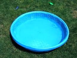 Hard Plastic Kiddie Pool With Slide Baby 1