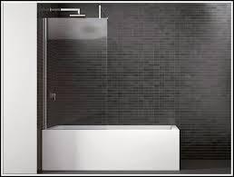 duschwand badewanne glas badewanne mit dusche