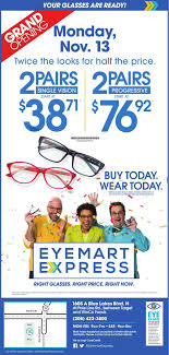 Eye Mart   Hairsstyles.co Dr Presley Associates Eyemart Express Exam Includes 39 Basic Eye Exam Additional Eye Exams Contacts Glasses Doctors Indiana Kentucky Ohio Fresno Ca Community Profile By Townsquare Publications Llc Issuu Eyemart Mogul Doug Barnes Archives Candysdirtcom New York To Donate Frames Exclusive Fairview Eyecare Columbia Mo 65203 Contact Lenses Optometrist Fayetteville Ar Invision Care From A Kiosk Nbc 5 Dallasfort Worth Eyemart Express Randall Edwards Rapid City This Month In Snaps Hilary Kennedy