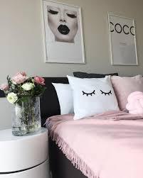 fransenplaid schlafzimmer schwarz weiß zimmer süße