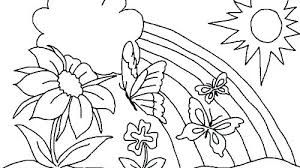 Flowering Coloring Pages Poppy Flower Free