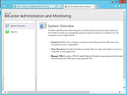 MBAM System Administrators Missing Manage TPM and Drive Recovery