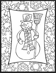 Dover Christmas Cheer Stained Glass Coloring Book Page 4