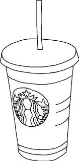 Starbucks Clipart Drawing At Getdrawings Com Free Banner Black And White Download