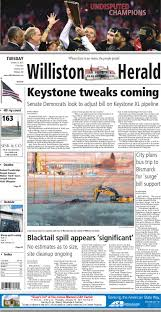 01/13/15 - Williston Herald By Wick Communications - Issuu Rolling Along 12014indd Property Details Band Day 2017 Community Willistonheraldcom Black Gold Express Heavy Haul Trucking Membership Directory Members As Of August 1 Pdf Welcome 112614 Williston Herald By Wick Communications Issuu Annual Hard Spring Wheat Show Nd Home Facebook The Daily Rant 2015 Black Gold Rush A New American Dream Teaser