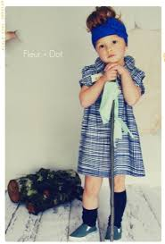 Fleur Dot Vintage Modern Style For Your Little Fashionista