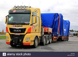 FORSSA, FINLAND - OCTOBER 13, 2017: Yellow MAN TGX 41.640 Semi ... Jamsa Finland September 1 2016 Volvo Fh Semi Truck Of Big Rigs Semi Trucks Convoy Different Stock Photo 720298606 Faw Global Site Magic Chef Refrigerator Parts 30 Wide Rig Classic With Dry Van Tent Red Trailer For Truck Lettering And Decals Less Trailer Width Pictures Federal Bridge Gross Weight Formula Wikipedia Wallpapers Hd Page 3 Wallpaperwiki Tractor Children Kids Video Youtube How Wide Is A Semitruck Referencecom Junction Box 7 Wire Schematic Inside Striking