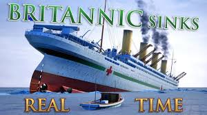 hmhs britannic sinks real time documentary youtube