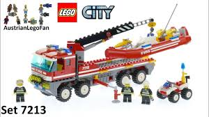 Lego City 7213 Off Road Fire Truck & Fireboat - Lego Speed Build ... Amazoncom Lego City Fire Truck 60002 Toys Games Lego 7239 I Brick Station 60004 With Helicopter Engine Ladder 60107 Sets Legocom For Kids My 4x4 Building Set Ages 5 12 Shared By Fire Truck Other On Carousell Man Lot 4209 7206 7942 4208 60003 Young Boy Playing With A Wooden Table City Fire Ladder Truck Brubit