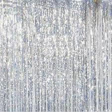 Foil Fringe Curtain Singapore by Metallic Shimmer Fringe Curtain Party Wedding Foil Tinsel Home
