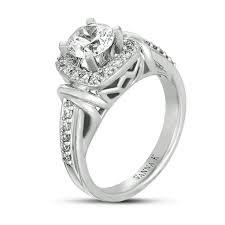 18 Beautiful Unique Platinum Engagement Rings