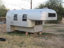 Vintage Avion Slide Truck Camper