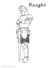 Coloring Pages For Boys Medieval Knight Sword Adults Free Online Flowers Full Size