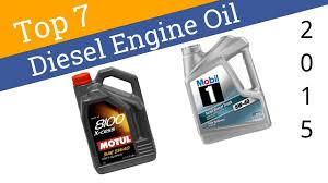 7 Best Diesel Engine Oil 2015 - YouTube