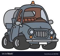 Funny Tank Truck Royalty Free Vector Image - VectorStock