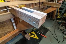 workbench top surface and attaching used drawers by tws