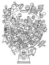 Doodle Invasion Coloring SheetsAdult ColoringColoring BooksColoring