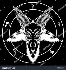 Is Halloween A Satanic Holiday by Pentagram Baphomet Binary Satanic Symbol Tattoos Stock Vector