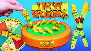 Inch Worms Game Night Toy Kids Board Challenge
