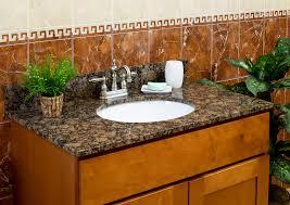lesscare bathroom vanity tops granite tops baltic brown
