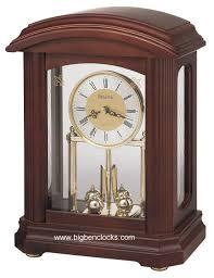 Bulova Table Clocks Wood by Bulova Anniversary Clock B1848 Nordale