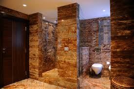 walk in tile shower designs brown tile earth tones tile inside