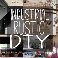 DIY Rustic Industrial Chic