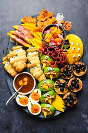 Happy Living Halloween Jalapeno Poppers by Halloween Snack Dinner Foxes Love Lemons