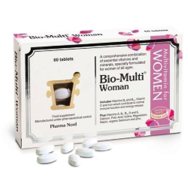 Pharma Nord Bio Multi Woman Vitamin and Mineral Supplement - 60 Tablets