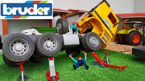 100 Bruder Trucks Youtube BRUDER RC TRUCK Crash Toys World Truck And Tractor Action Video For