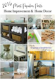 2016 Most Popular Posts DIY Tutorials In Home Decor And Improvement Creative Projects