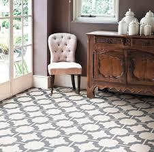 Lovely Patterned Laminate Floor Tiles Mardi Gras Sagres Grey
