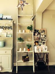 11 leaning ladder shelf ideas including 5 handmade versions