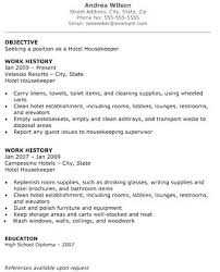 Hospital Housekeeping Resume Examples Bunch Ideas Of Sample For Free Manager Samples