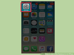 How to Add a New Keyboard on an iPhone with wikiHow