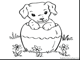 Dog Coloring Book Pages Pdf Dogs And Cats Superb Realistic Adults Full Size