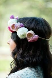 Ranunculus And Garden Spray Floral Crown By Tumbleweed Truck