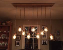 9 Light DIY Mason Jar Chandelier