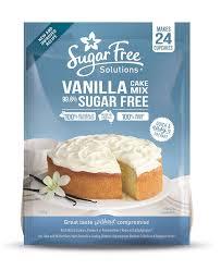 SUGAR FREE VANILLA CAKE MIX 450g