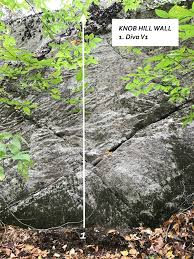 New Bouldering Problems at Whitney and Thayer Woods Action in