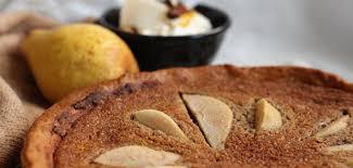 haselnuss tarte mit birnen nach oliver fräulein