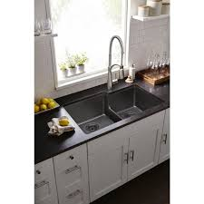 Elkay Granite Sinks Elgu3322 by Faucet Com Elgulbo3322gy0 In Dusk Gray By Elkay