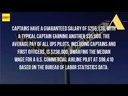 bureau ups what does a ups pilot