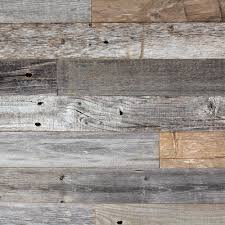 Barn Wood Wall DIY Reclaimed Easy Peel And Stick Application