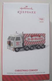 2014 Hallmark Christmas Convoy Sound Ornament Semi-truck | EBay
